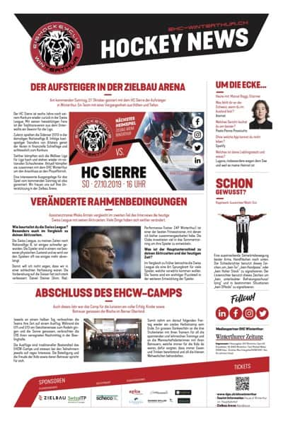 Hockey News 24/10/19