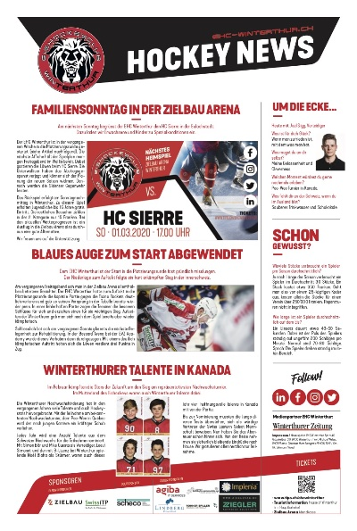 Hockey News 27/02/20