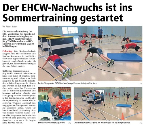 EHCW Sommertraining2020 small