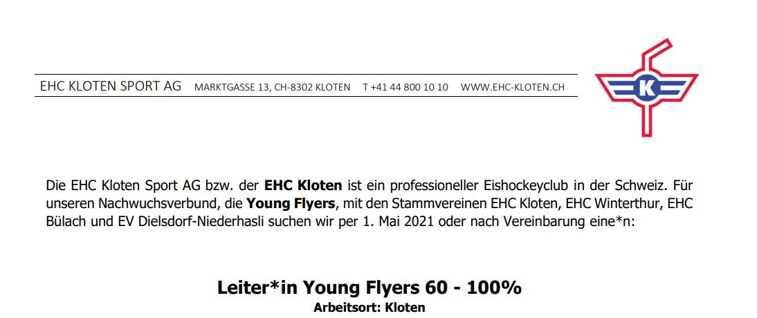 Leiter YoungFlyers21